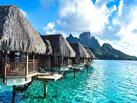 Overwater Bungalows Cancun